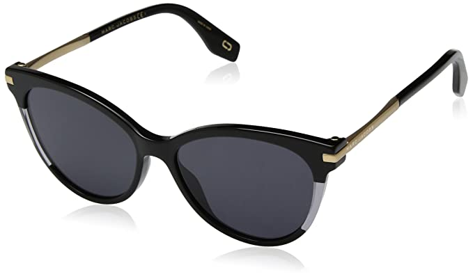 Marc Jacobs Marc 295/S JF Gafas, Black/GY Grey, 55 Mujeres ...
