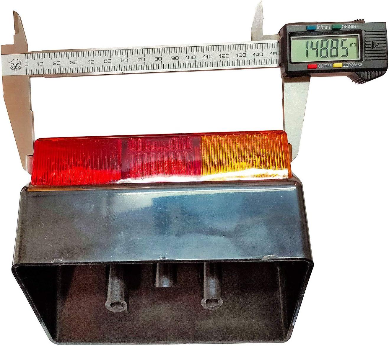 fanale posteriore della lampada luce Deutz fahr Tractor set LH /& rh 11002502 Bajato