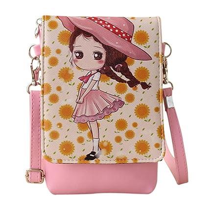 98fda5fdb5ed0f Amazon.com | Shoulder Bags Women'sCartoon Handbags Kids Girls Princess Cute  Mini Crossbody Bag Rucksack (A) | Backpacks