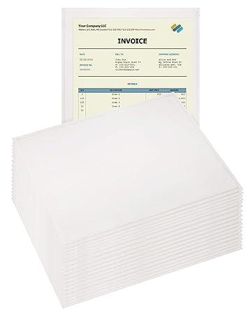 Amazon.com: 100 unidades transparente lista de embalaje ...