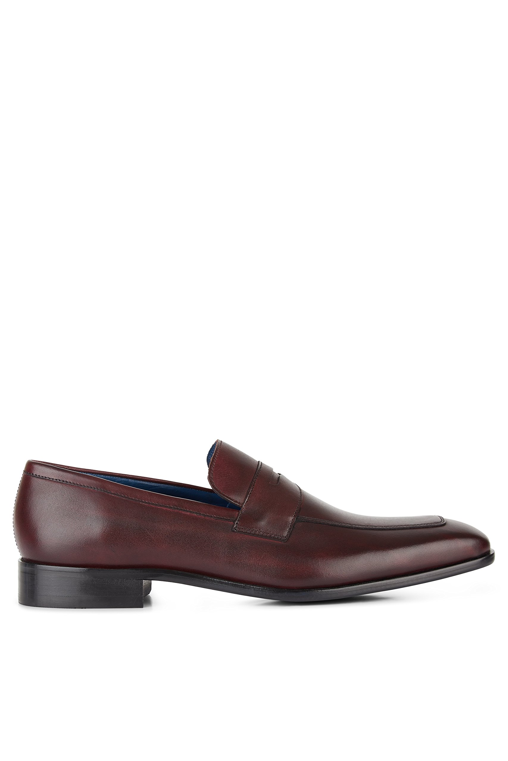 Moss 1851 Men's Lewis Brown Saddle Slip On 8.5 by Moss 1851