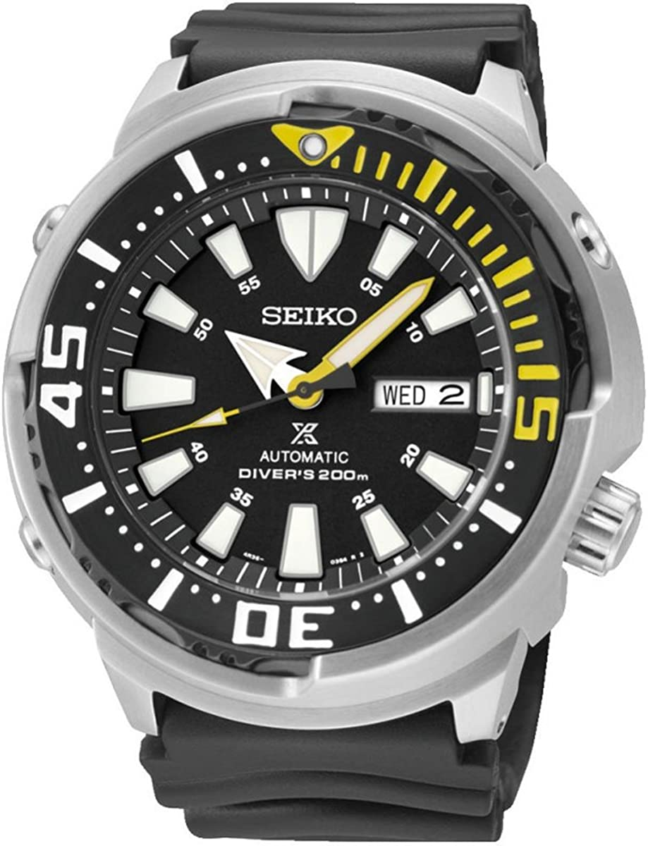 Seiko SRP639K1 Men s Prospex Automatic Dive Stainless steel case Strap 200M WR SRP639