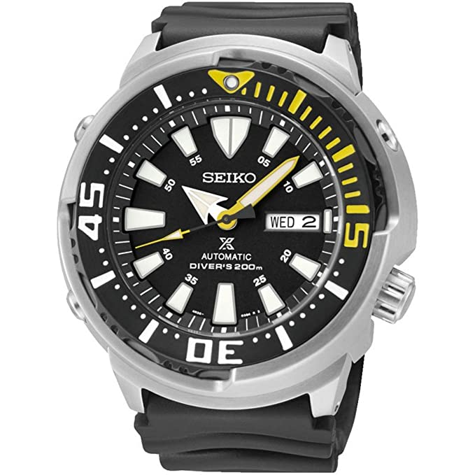 9. Seiko Men's Prospex Automatic Dive Watch (SRP639K1)