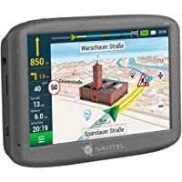 Navitel E200TMC GPS navigatiesysteem (5 inch/EU 15 kaarten liftime-updates gratis, TMC/POI/flitswaarschuwing/spraakgids…