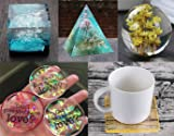 Silicone Resin Molds 5Pcs Resin Casting Molds