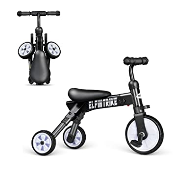 Amazon.com : Besrey 3 In 1 Baby Trike & Toddlers Glide & Foldable ...