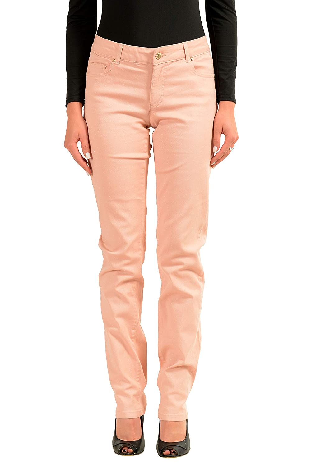 Versace Jeans Sparkling Pink Womens Skinny Jeans Sz US 5 IT 41