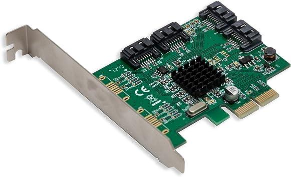 Syba SI-PEX40062 4 Port SATA III PCI-e 2.0 x2 Card