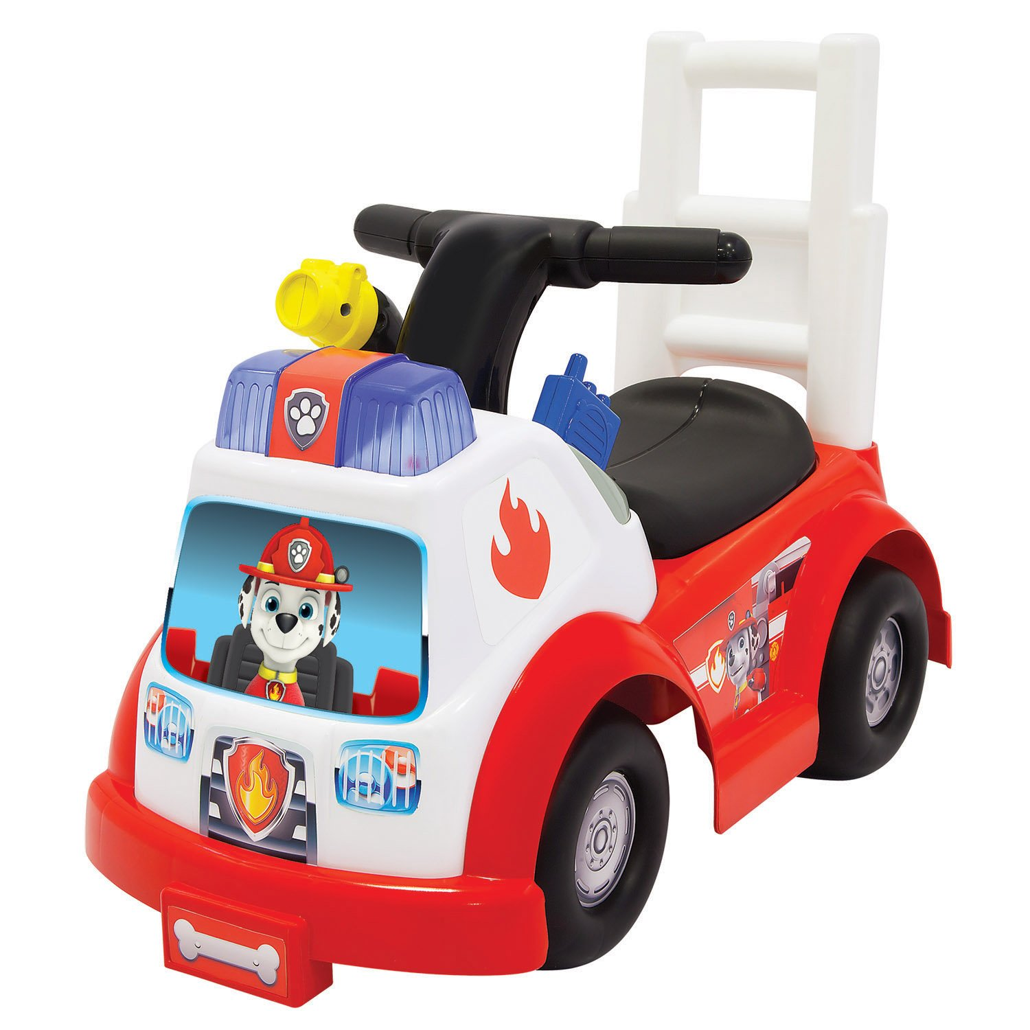 amazon com paw patrol marshall fire engine ride on ride on toys