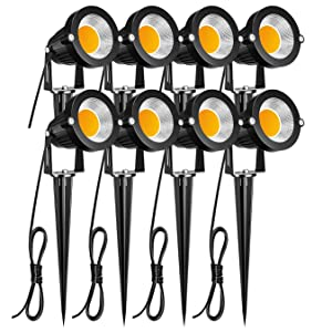 ZUCKEO Low Voltage LED Landscape Lighting