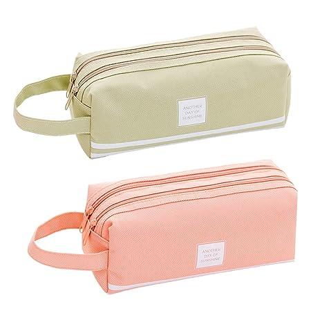 Amazon.com: Paquete de 2 bolsas de almacenamiento de lona de ...