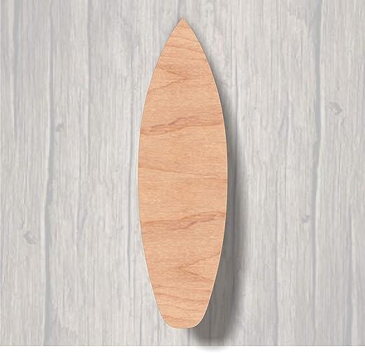 Eyrrme Cartel de Madera con diseño de Tabla de Surf: Amazon ...