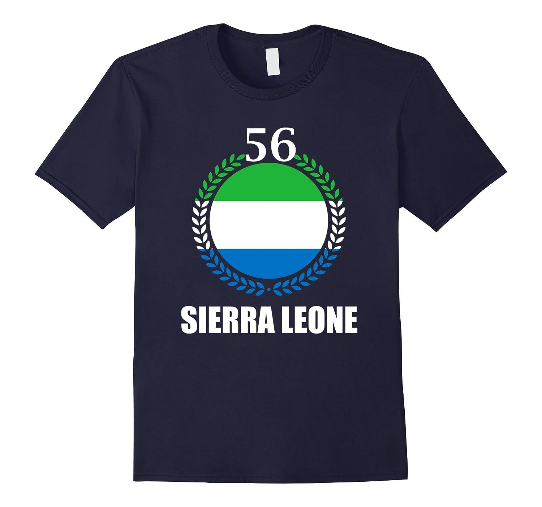 Sierra Leone 56th Independence Gift Celebration T-Shirt-TD