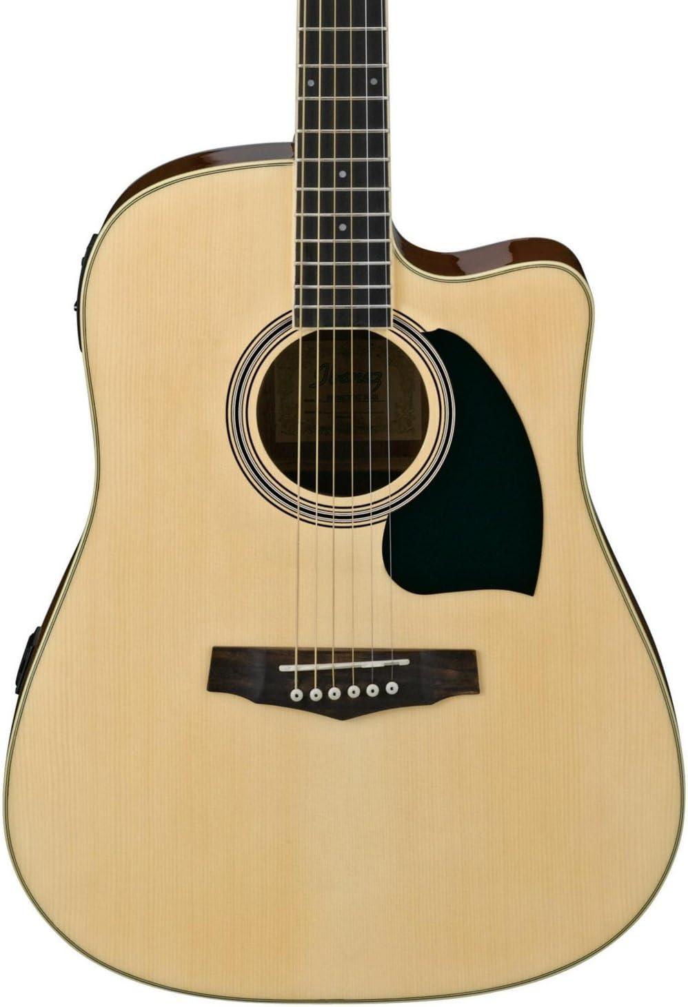 Ibanez PF15ECE Serie PF - Guitarra eléctrica acústica Dreadnought ...