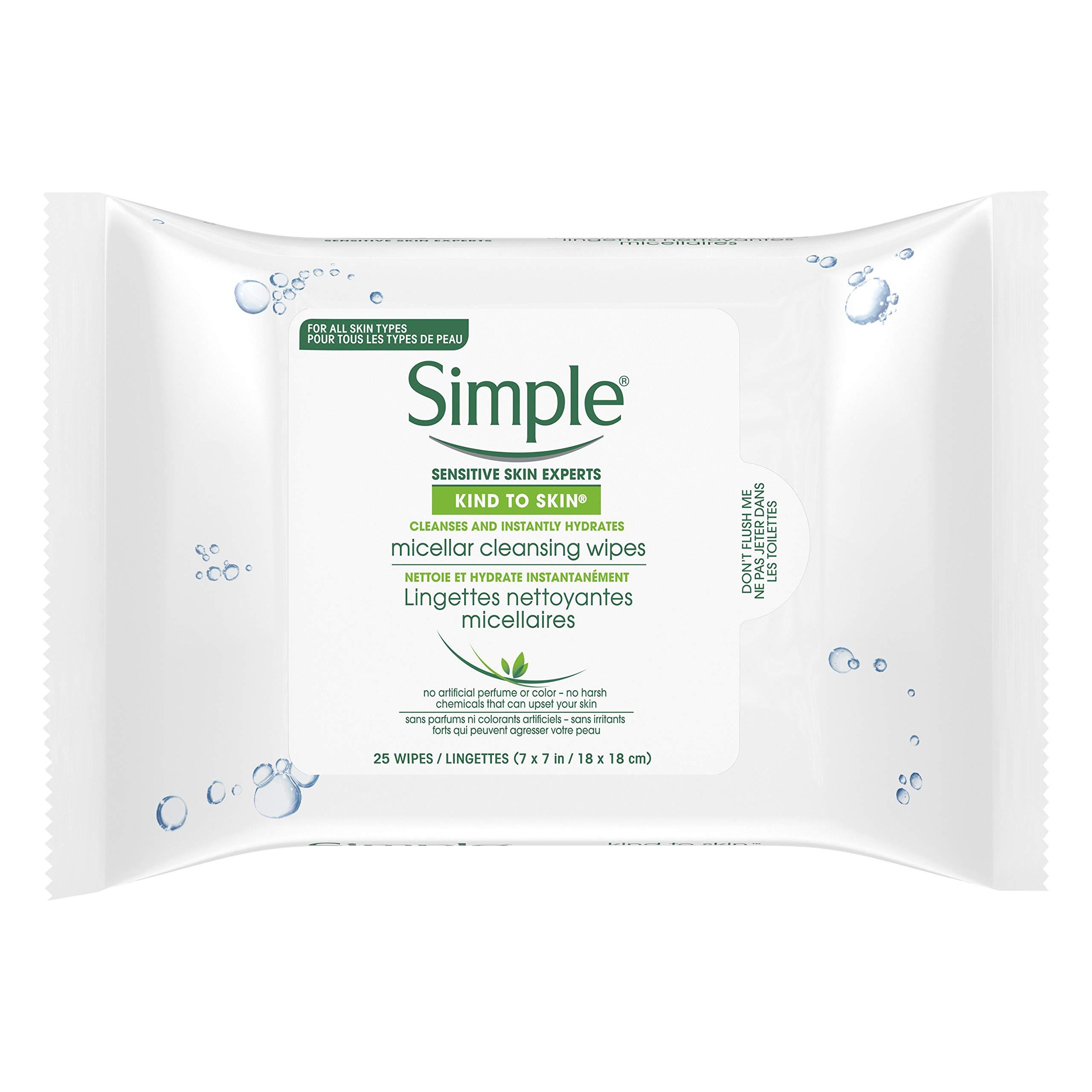 Simple Oil Balancing Cleansing Wipes 7 Ct Seashells & Starfish 10 oz Sugar WhipВ®