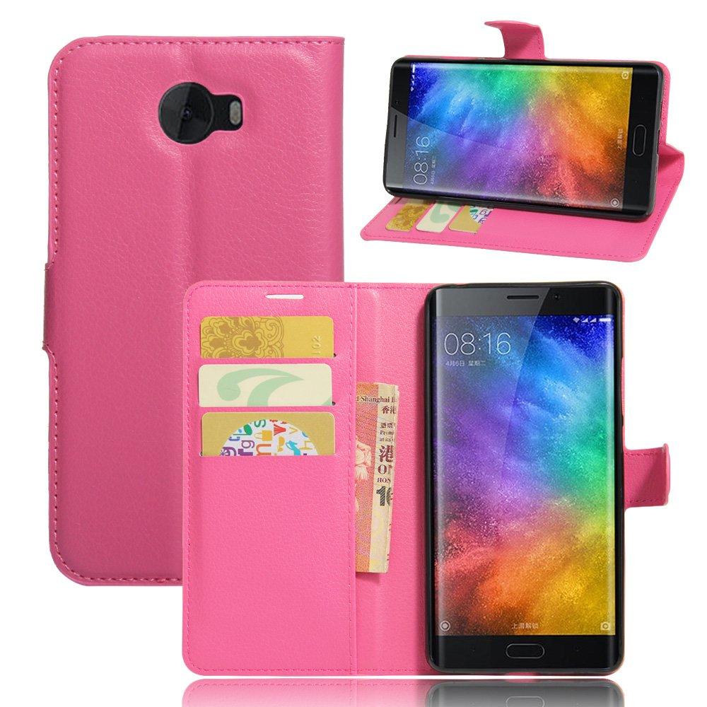 Nadakin Xiaomi Note 2 Cartera de Cuero con Carcasa de ...