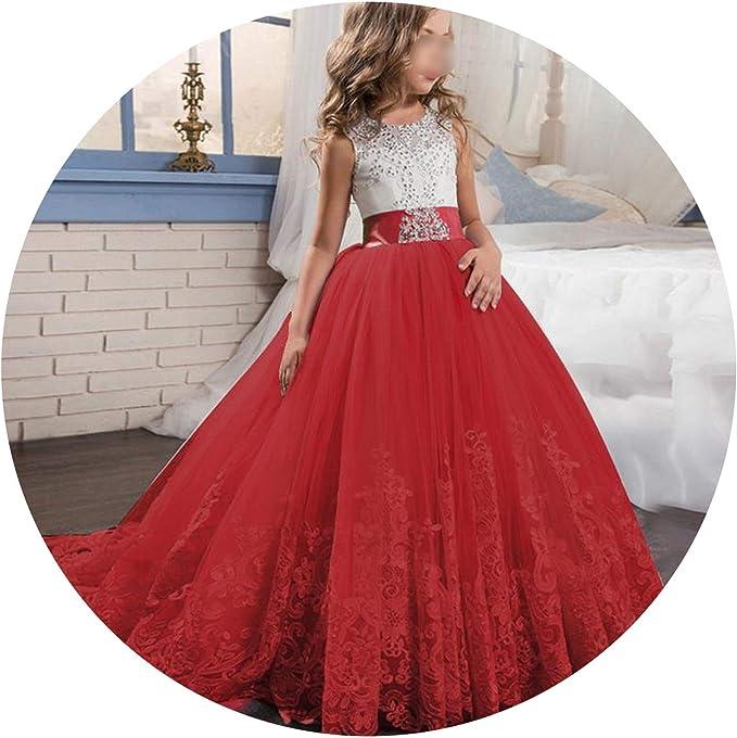 Amazon.com: Elegante vestido de princesa para niñas, para ...