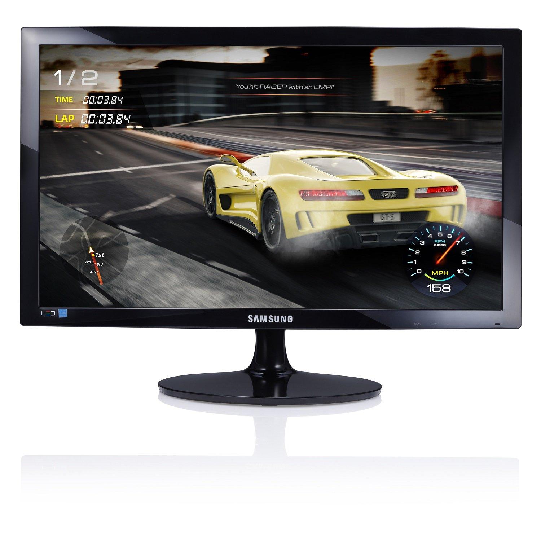 Samsung - S24D330H - Moniteur Gaming - Dalle TN - 24 Pouces – Résolution Full HD (1920 x 1080), 1ms (GTG), 16:9, Design Noir brillant product image