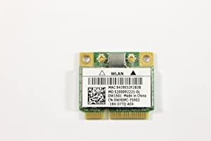 Dell Mini PCI Express Half Height WHDPC WLAN WiFi 802.11n Wireless Card Inspiron N5010 N4010 Studio