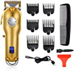 Kemei Professional Hair Clippers Hair Trimmer for Men