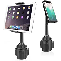 APPS2Car Cup Holder Tablet Mount, 2-in-1 Cup Holder Car Cradle Adjustable Tablet Car Mount Holder for Car/Truck…