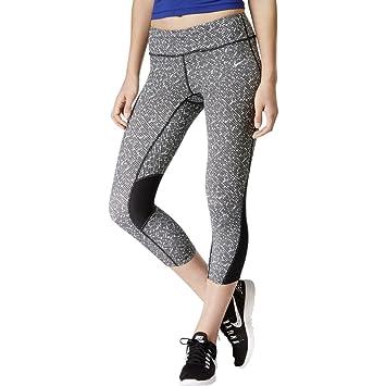 90a4131d4789 Nike Women s Filament Capri Running Tights - Multi - Black White ...