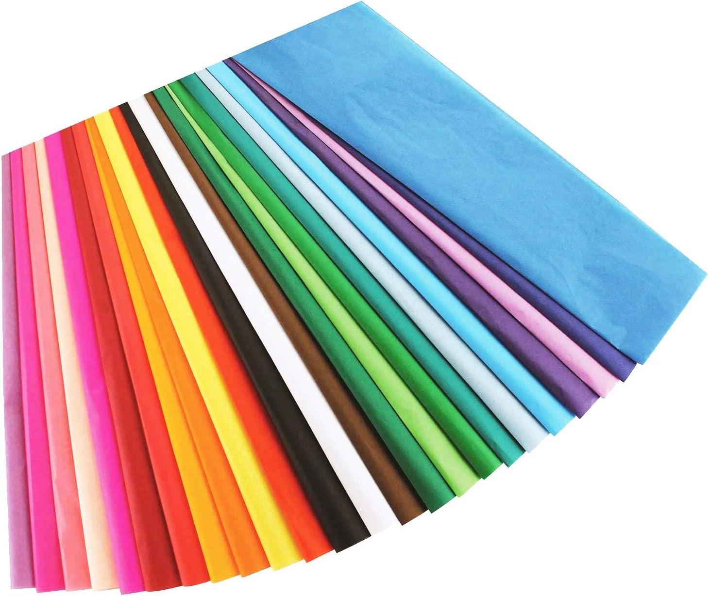 24 Sheets Pack 20 x 30 Cerise Pink Quality Premium Grade Color Tissue Paper
