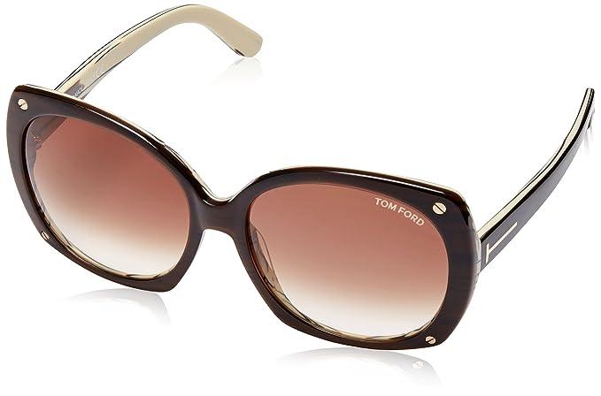 Amazon.com: Tom Ford anteojos de sol Gabriella en ft0362 50 ...