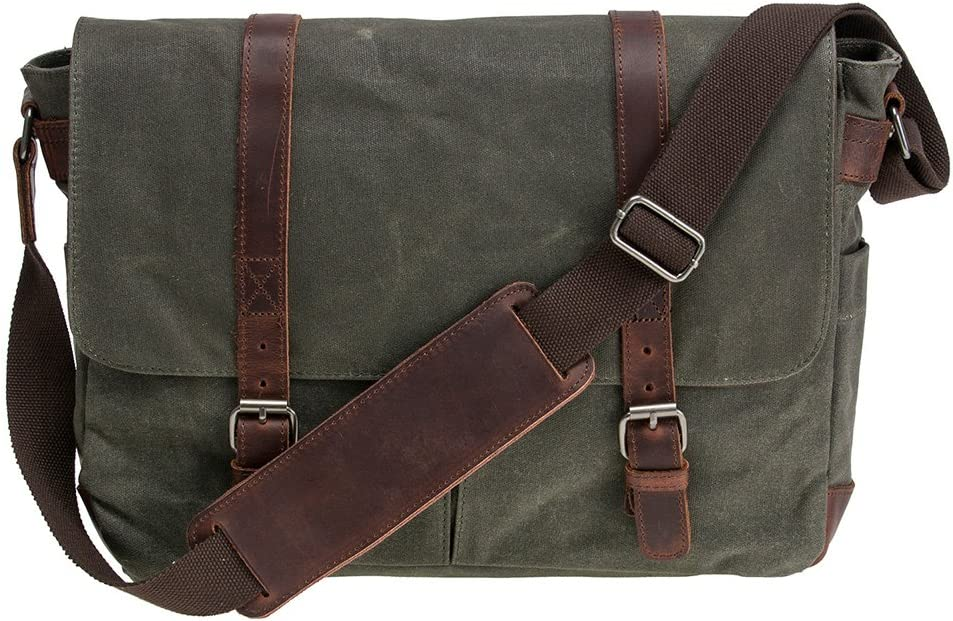 Gifts for Men Laptop Mens Bag Waxed Canvas Messenger Bag Messenger Bag Men Waxed Canvas Bag Mens Laptop Bag Messenger Bag Mens Gifts