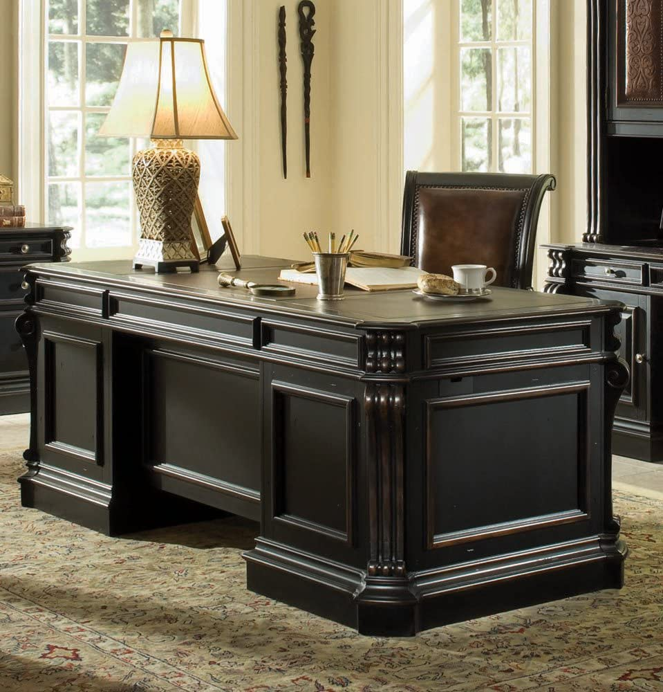 Amazon.com: Hooker Furniture Telluride Executive Desk: Kitchen