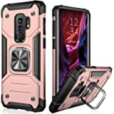 IKAZZ Galaxy S9 Plus Case,Samsung S9 Plus Cover Dual Layer Soft Flexible TPU and Hard PC Anti-Slip Full-Body Rugged Protectiv