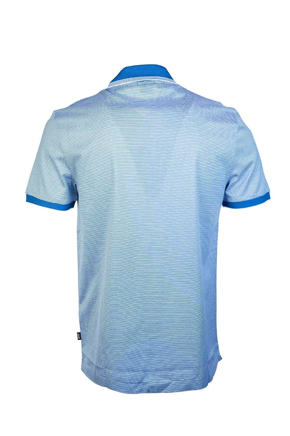 2f1237777 BOSS Hugo Men Short Sleeve Polo Shirt PHILLIPSON 32 50387546 Size XL Blue   Amazon.co.uk  Clothing
