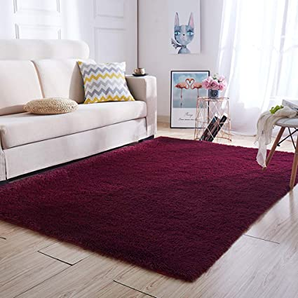 Amazon Com Solid Color Carpet Living Room Coffee Table Mat