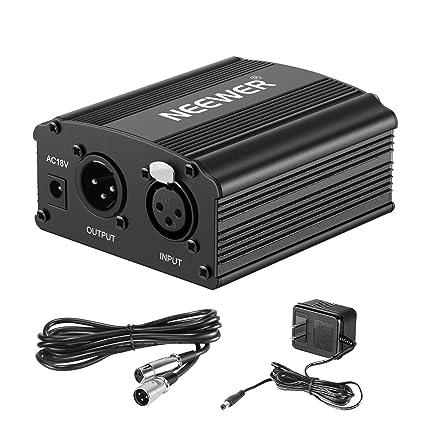 Amazon.com: Kit de alimentación Neewer 48V ...