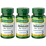 Melatonin 3 mg, 3 Bottles (240 Count)