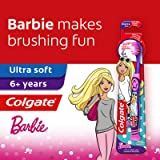 Colgate Kids Toothbrush, Barbie (5-9 Years), 1 count