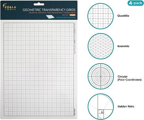 Amazon.com: Koala Tools | Hojas de transparencia (paquete de ...