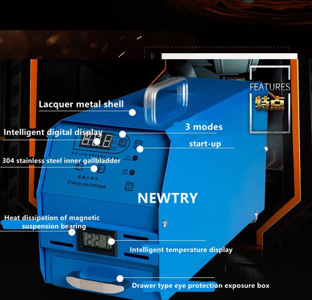 NEWTRY Small Automatic intelligent photosensitive seal machine Computer Flash Stamp Machine Exposure machine 10065mm (110V)