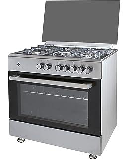 Cocina SolThermic F9LT50G2 NEGRA PORTABOMBONA parrilla ...
