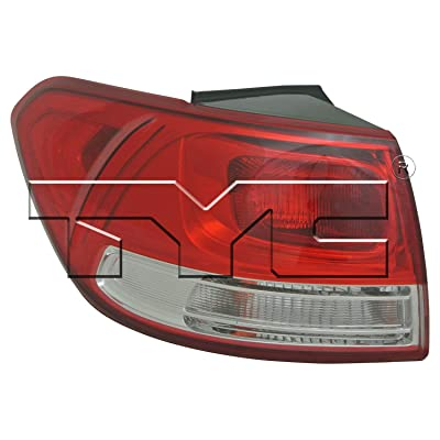 TYC 11-6780-00-1 Replacement Left Tail Lamp Compatible with KIA Sorento: Automotive