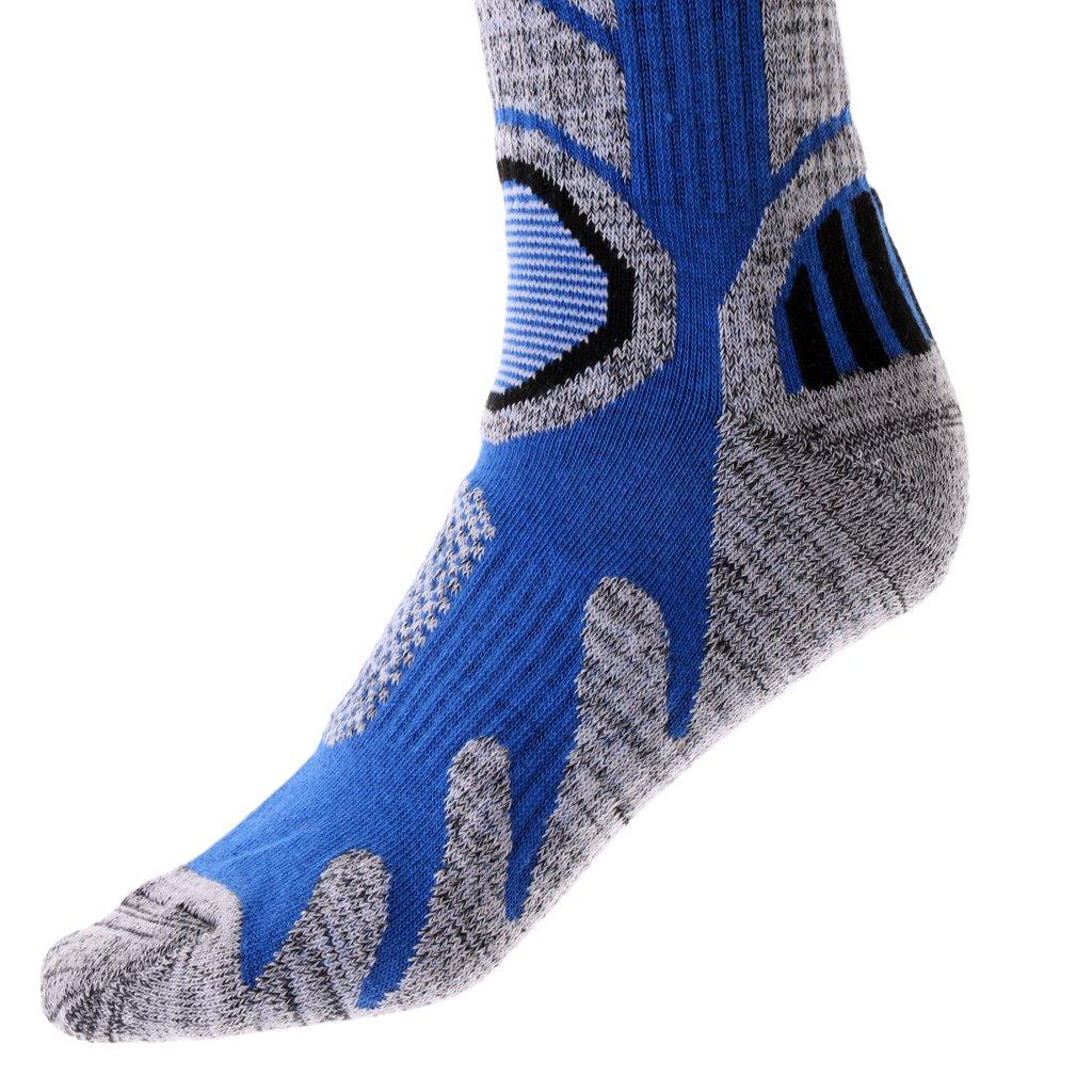 Cielo Blu perfk Paia di Calzini Invernali da Sci Sportive Traspirante in Cotone Professionale Calze Sport Accessori Uomo