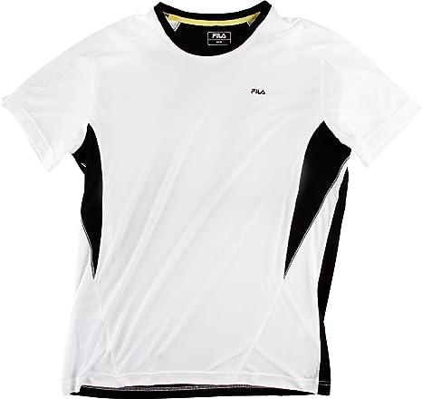 Fila T-Shirt Taurus Men - Camiseta/Camisa Deportivas para Hombre, Color (Weiß), Talla XL: Amazon.es: Ropa y accesorios