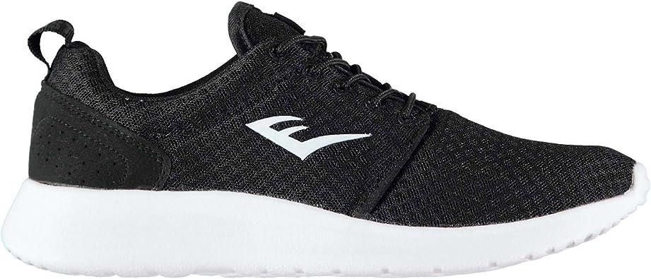 Everlast Unisex Niños Sensei Run Zapatillas Deportivas De Running Negro/Blanco 35.5 EU: Amazon.es: Zapatos y complementos