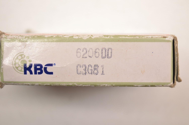 KBC 6206DD SINGLE ROW BALL BEARING