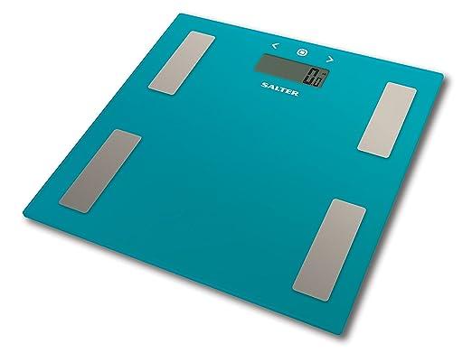 26 opinioni per Salter 9150 TL3R Bilancia Analizzatrice in Vetro, Azzurro