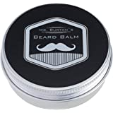 Mr. Burton´s Beard Balm classic | 60g | Made in Germany | unser Bartbalsam vereinigt Styling + Pflege für einen geschmeidigen, weichen Bart | mit Arganöl