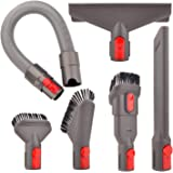 Attachment Kit for Dyson V11 V10 V7 V8 Absolute Animal Motorhead Trigger Cordless Vacuum Cleaner (AA:Hose Attachment Kit…