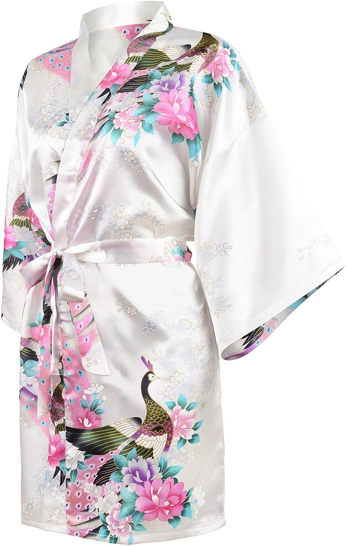 HonourSport Donna Peacock Kimono corto Robes