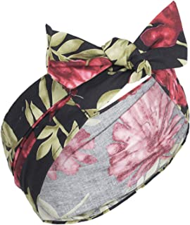 Küstenluder LUNA Tropical PALMS Blüten Aloha Pin Up HAARBAND Headband Rockabilly