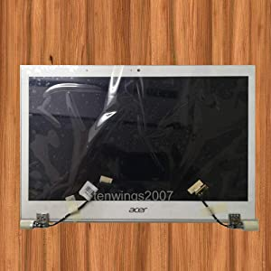"""For Acer 13.3"""" IPS FHD LCD Display Cover Cable Hinges Assembly Aspire S7-391 B133HAN03.0"""